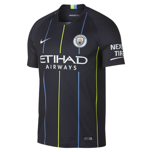 Nike Manchester City Away Jersey