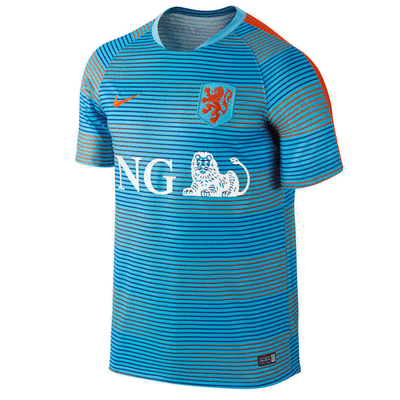 Nike Netherlands Prematch Training Jersey