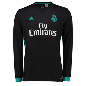 adidas Real Madrid Away Jersey Long Sleeve
