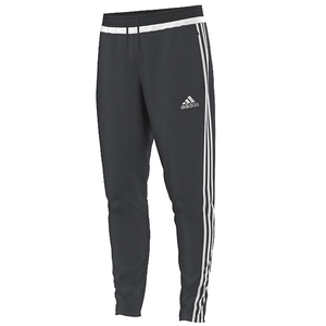 adidas Youth Tiro 15 Pant - Dark Grey/White
