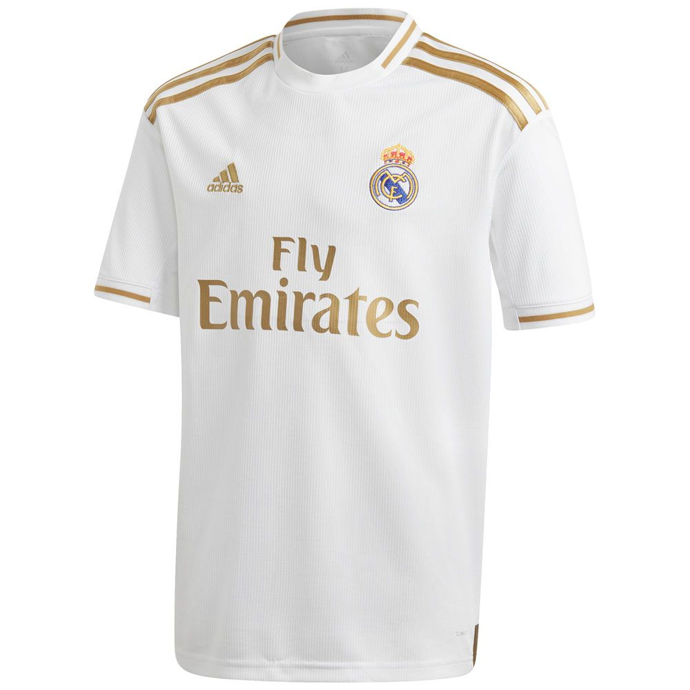 adidas Youth Real Madrid Home Jersey 2019/20