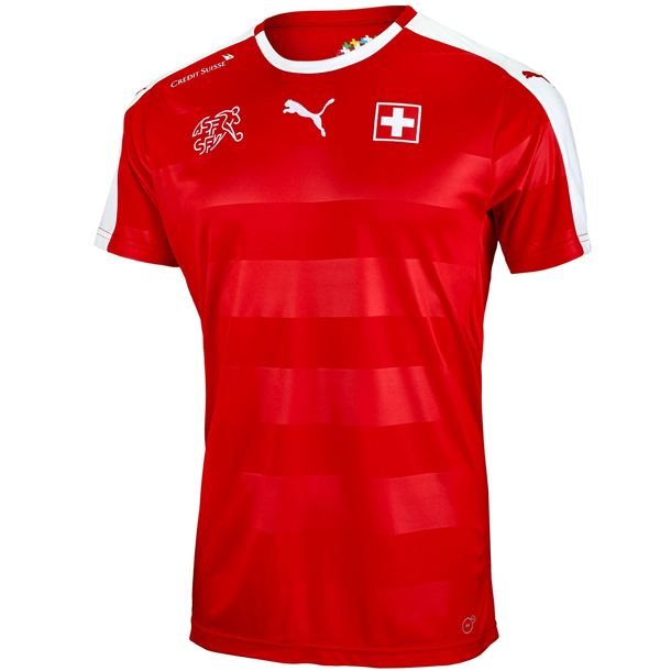 Puma Switzerland Home Jersey