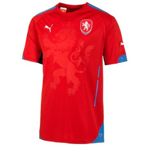 Puma Czech Republic Home Jersey