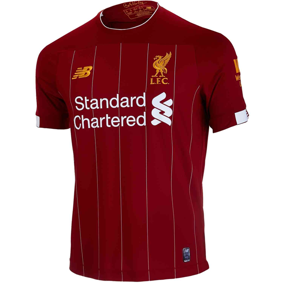 New Balance Liverpool Home Jersey 2019/20