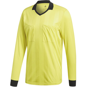 adidas Ref 18 Long Sleeve Jersey - Yellow