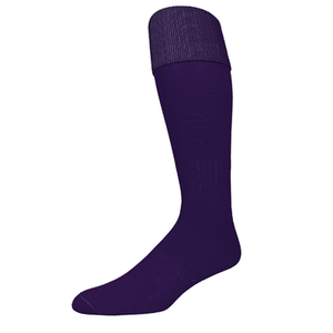 Pear Sox Euro Soccer Sock - Purple