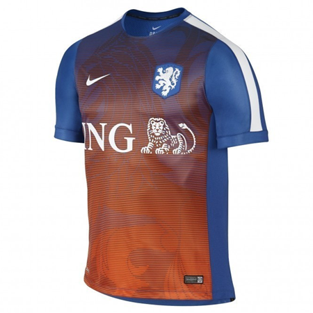 Nike Holland Prematch Training Jersey