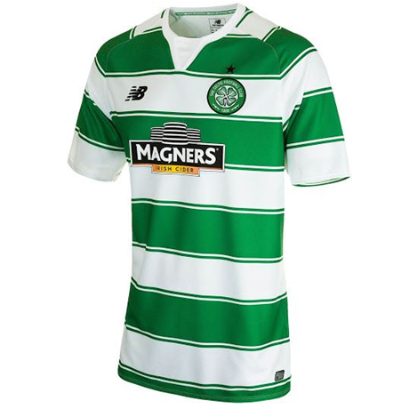 New Balance Youth Celtic Home Jersey