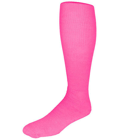 Pear Sox All Sport Neon Sock - Pink