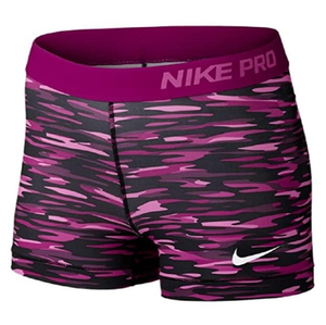 Nike Women's Pro Compression Short - Pink Camo