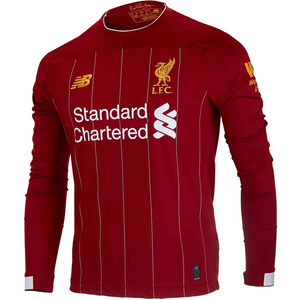 New Balance Liverpool Home Jersey Long Sleeve