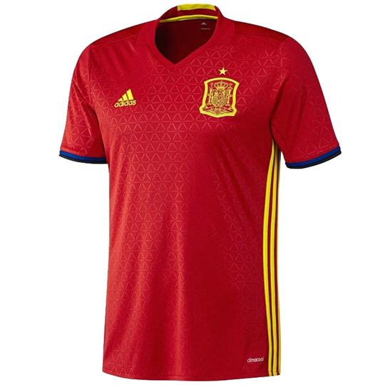 adidas Spain Home Jersey