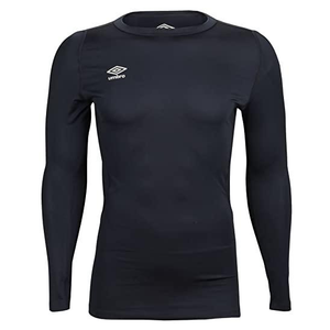 Umbro Crew Compression LS Top - Navy