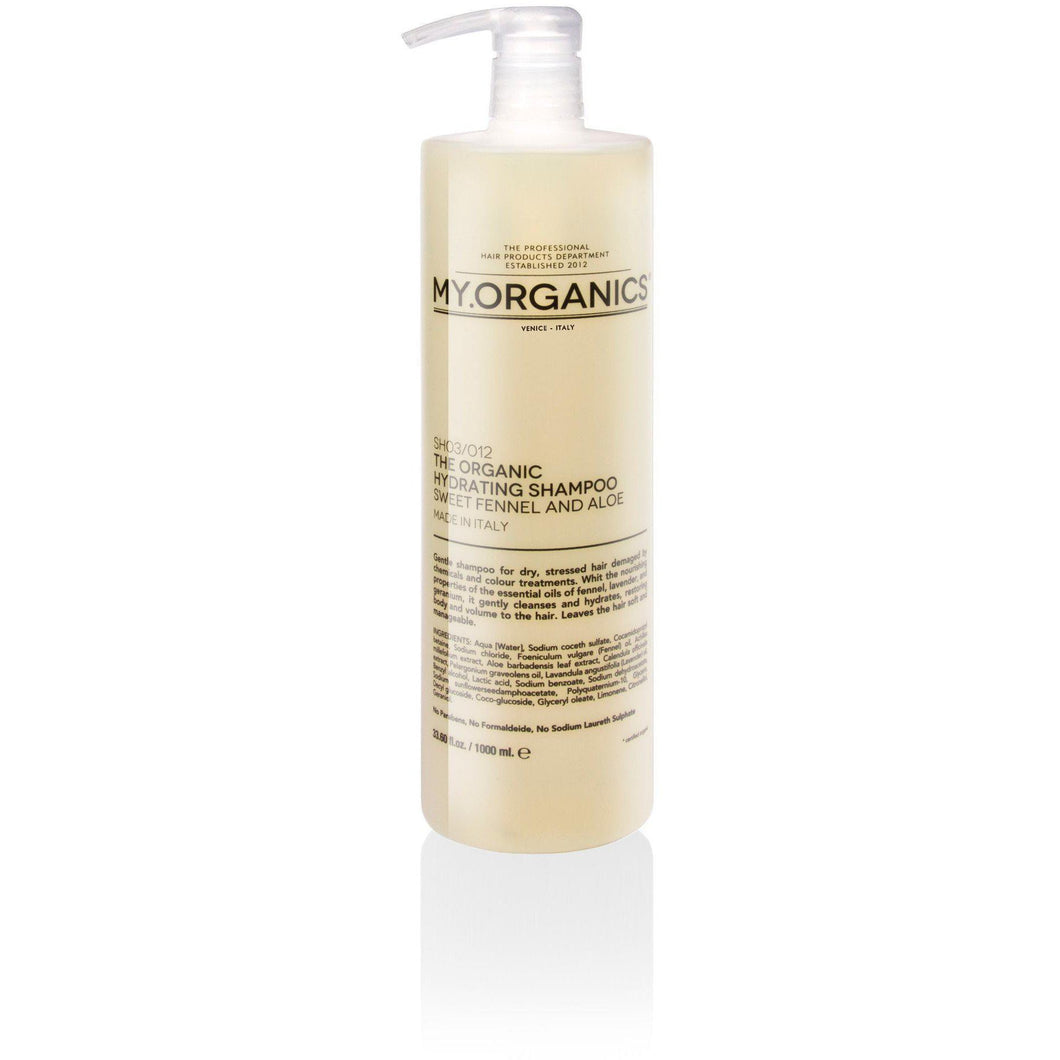 Organic Hydrating Shampoo For Dry Hair 1000ml | My.Organics - My Organics