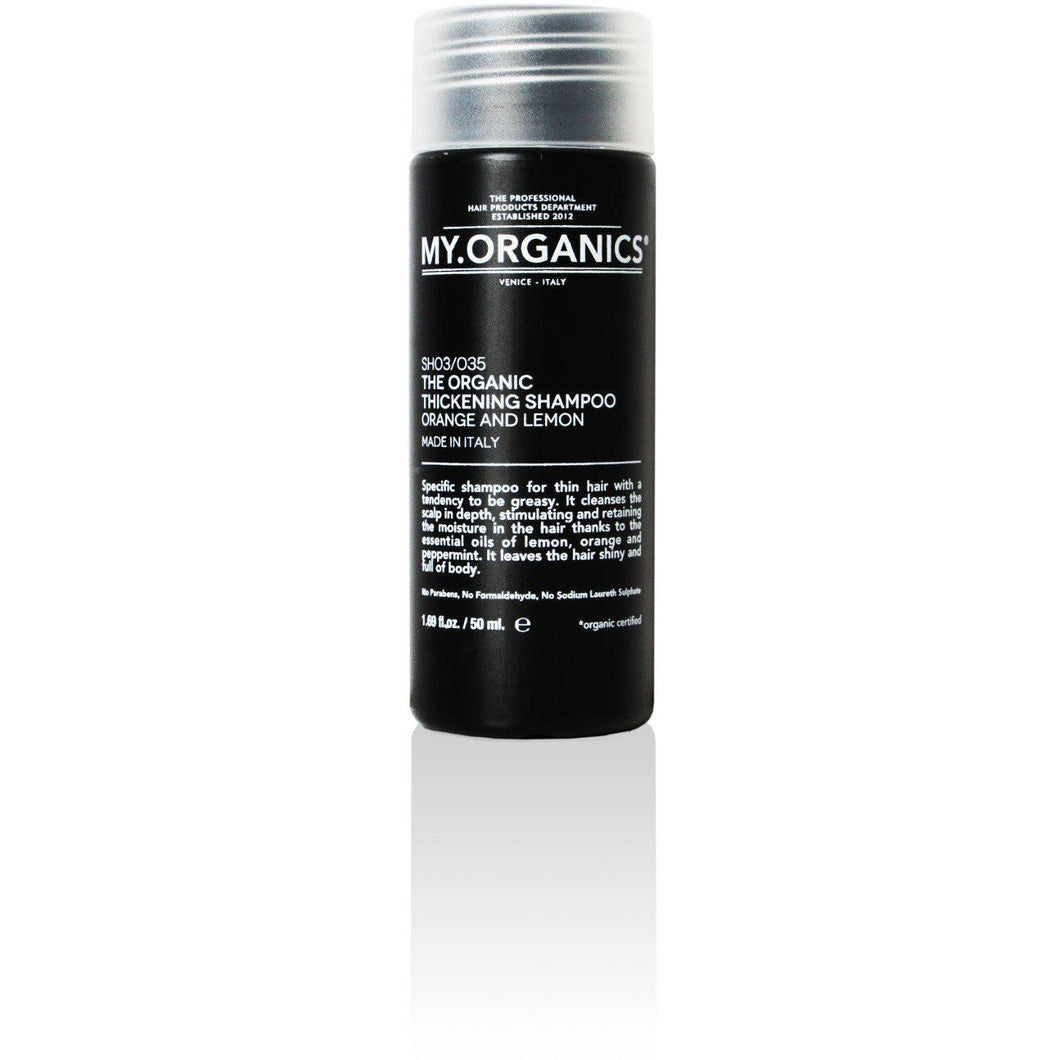 Organic Thickening Shampoo for Thin Hair 50ml | My.Organics - My Organics