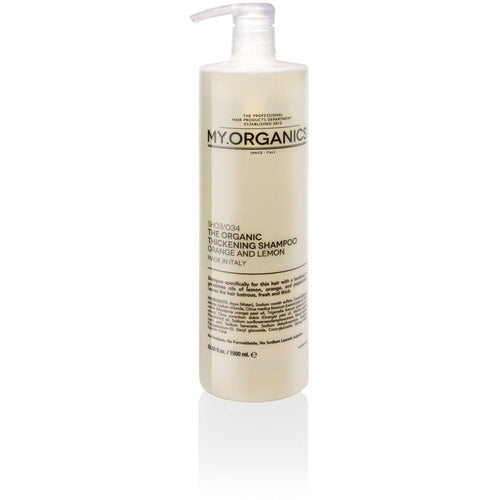 Organic Thickening Shampoo for Thin Hair 1000ml | My.Organics - My Organics