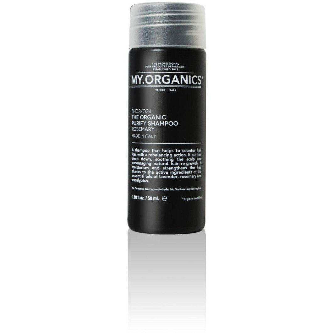 Organic Purifying Shampoo For Hair Loss 50ml | My.Organics - My Organics