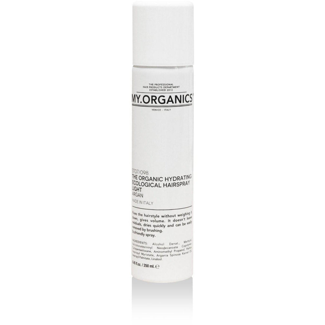 Organic Hairspray Light Hold 200ml | My.Organics - My Organics