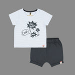 Baby boys Attitude Fashion set - Organic cotton