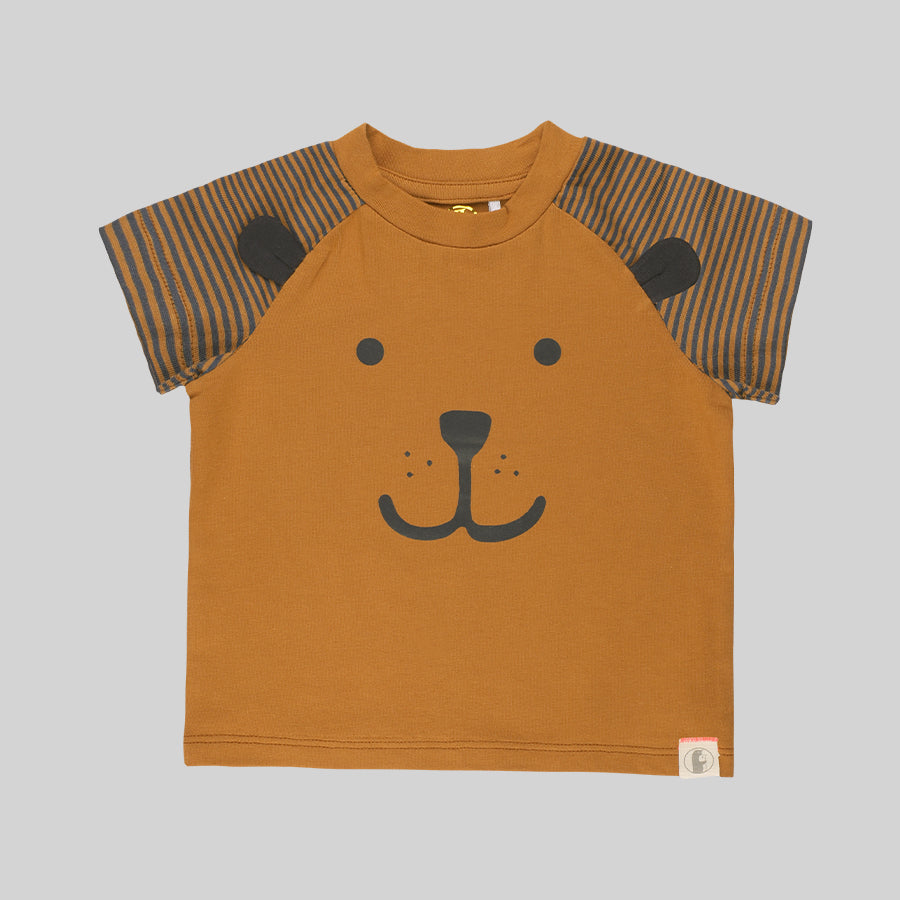 Baby boy Lion Cub 2 Pack tees - Organic cotton