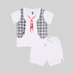 Baby Boy shorty Set - Organic cotton