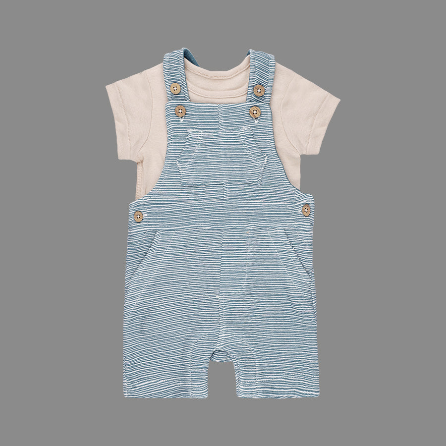 Baby boys Bibshort set - Organic cotton