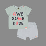 Baby boys Awesome Fashion set - Organic cotton