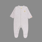 Unisex baby 4 piece Grey Set - Organic cotton