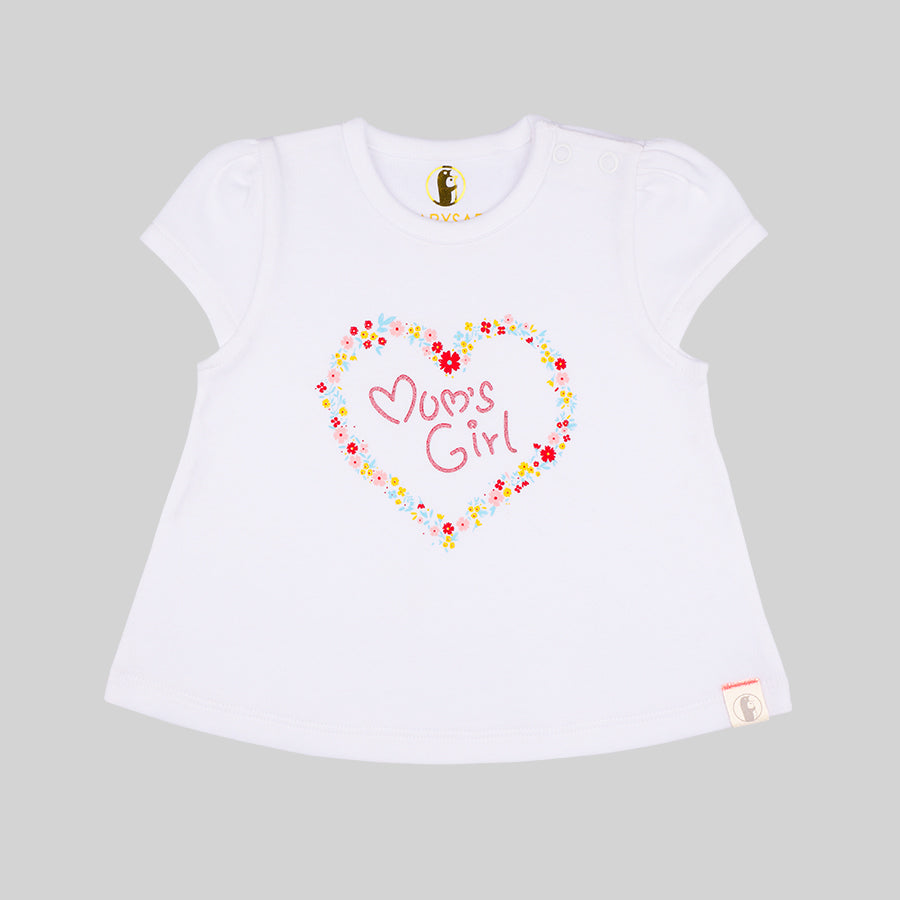 Baby Girl 2 Pack Tees - Organic Cotton