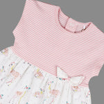 Baby girls dress and head band set - Organic Cotton