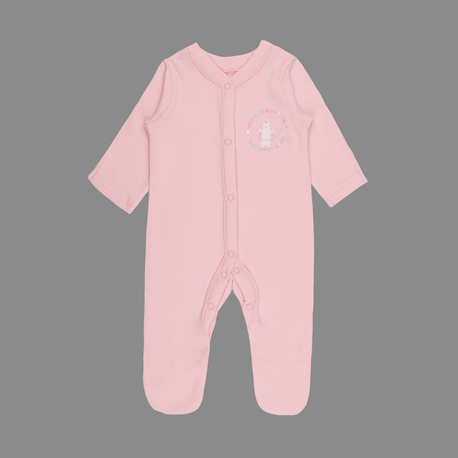 Baby Girl 3 Pack Sleepsuits - Organic cotton