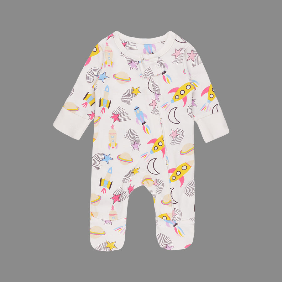 Baby Girl 2 Pack Sleepsuits - Organic cotton