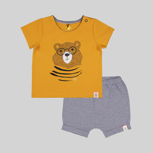 Beary Cool Baby Fashion Set - Oraganic cotton