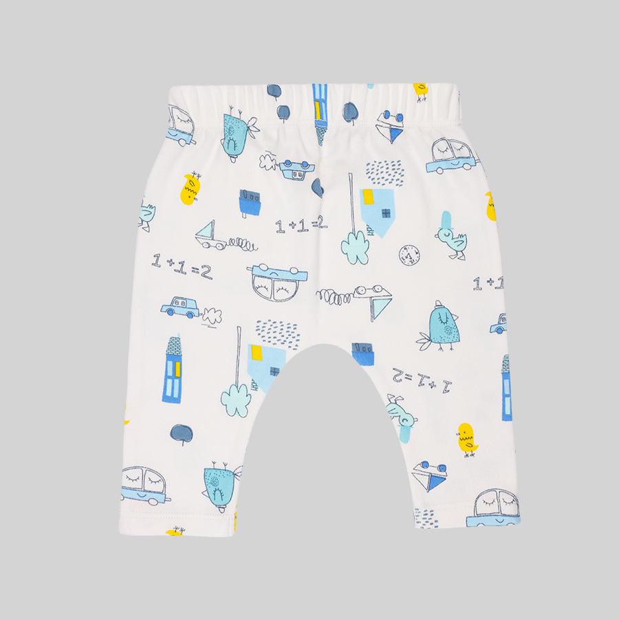 Baby Boy 4 piece Moms Fav Set - Organic cotton