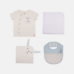 Premium Baby Boy Gift Pack - Organic Cotton, Anti Bacterial
