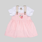 Baby Girls Dress Set (Floral) - Organic cotton