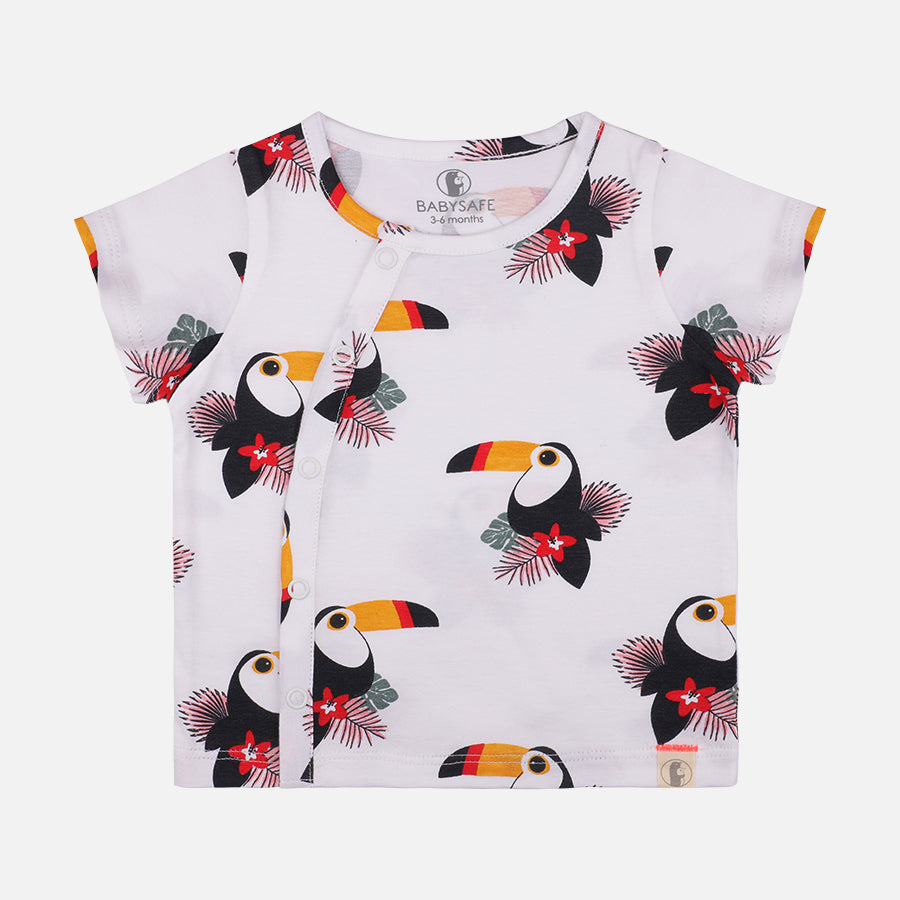 Unisex Toucan 2 Pack Tees - Organic Cotton