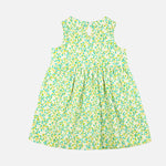 Baby Girls Dress with a Pocket  - Organic Cotton