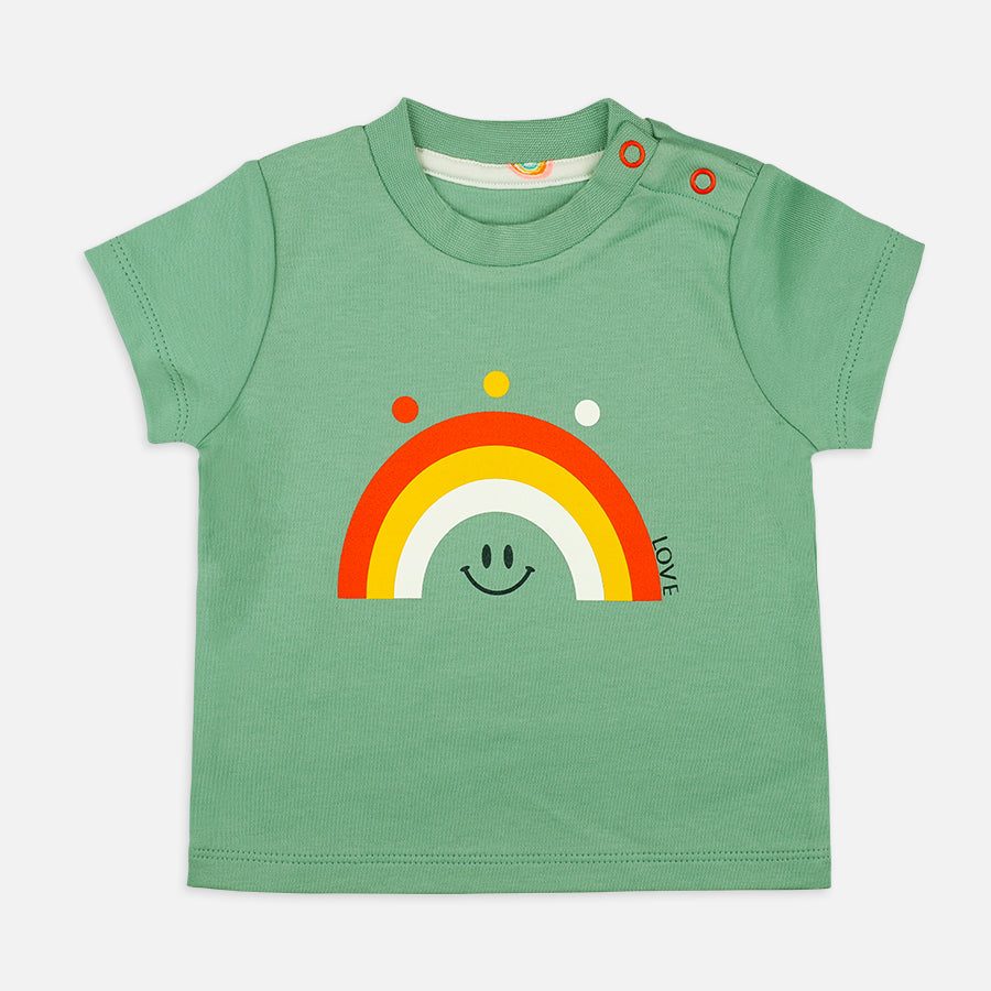 Baby Boy Rainbow Set - Organic Cotton