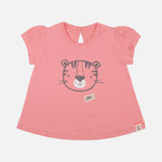 Baby Girl Trendy Summer Tigress Shorty Set - Organic Cotton