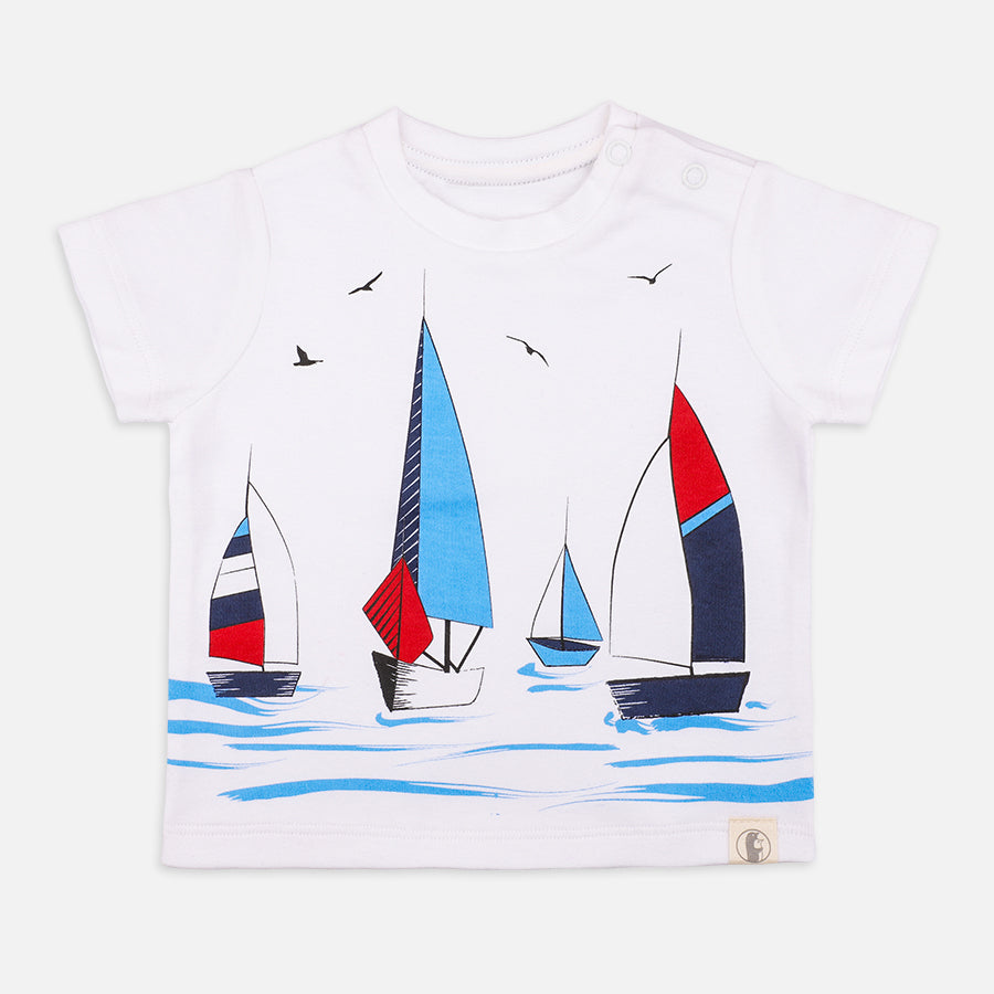 Baby Boy little Sailor Set - Organic Cotton