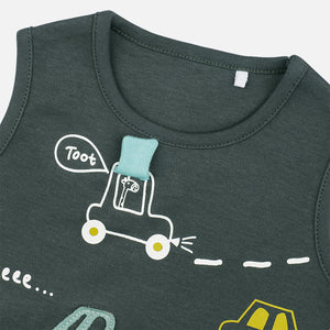 Baby Boys Transport Set - Organic Cotton