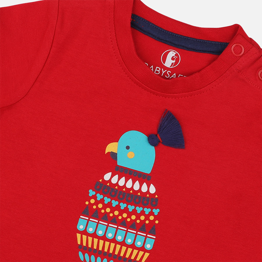 Baby Boys Bright Macaw Set - Organic Cotton