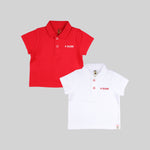 Baby Boys 2 Polo Tees - Organic cotton