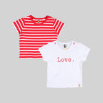 Unisex 2 Pack  Tees - Organic cotton