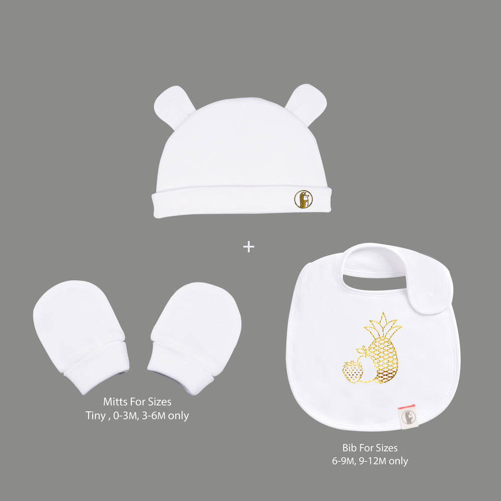 Unisex - Bunny hat and Scratch Mitts