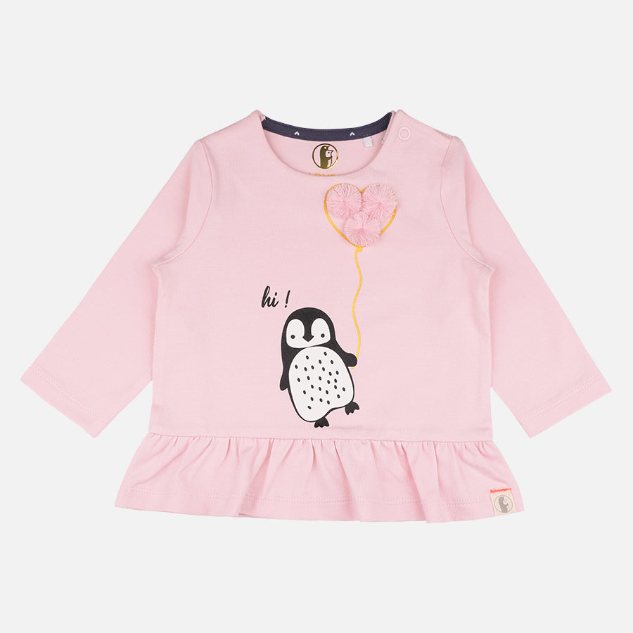 Baby Girl 3 piece Penguin set - Organic cotton