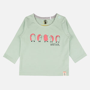 Unisex 3 piece Fun Dancing hedgehogs set - Organic cotton