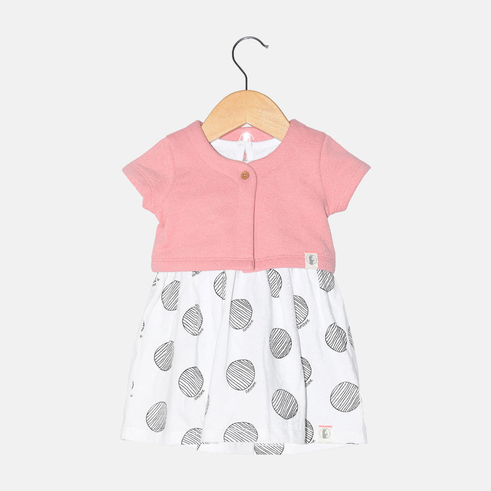 Baby Dress and Shrug Set - Organic cotton