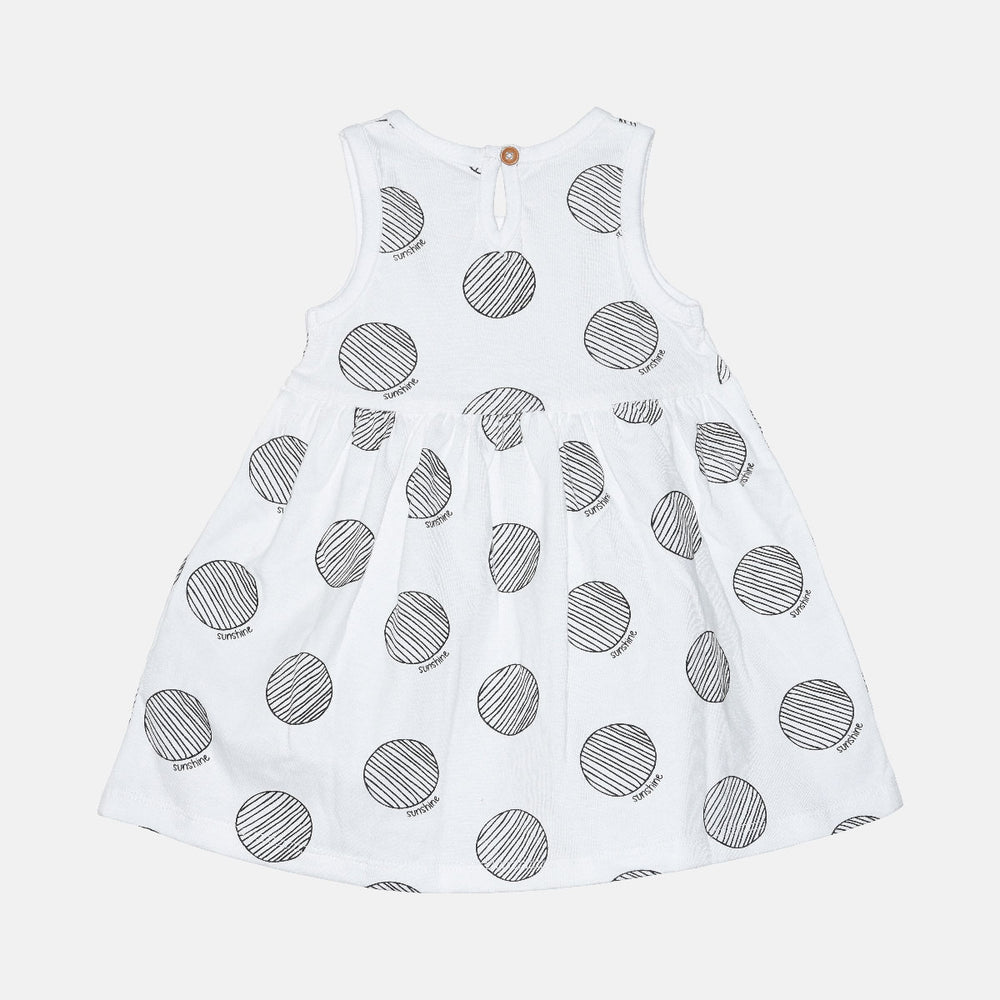 Baby Girls Dress and Shrug Set - Organic cotton